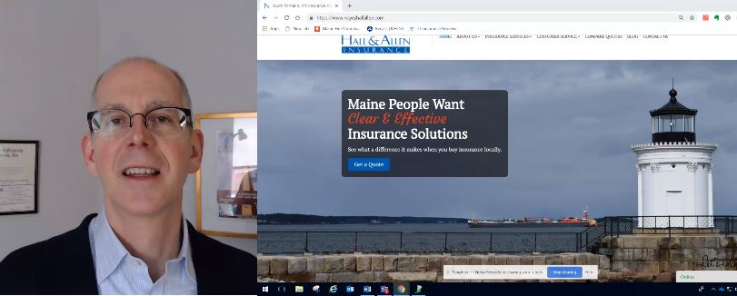 Link to video explaining different types of Maine auto insurance liability limits - split limits vs. combined single limit.
