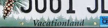 "Maine license plate - ""Vacationland"""