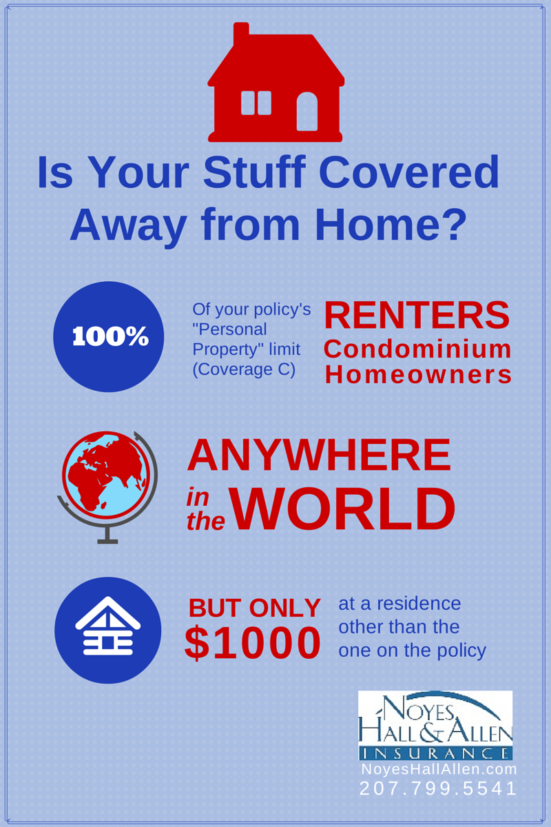 Does Maine Homeowners Insurance Cover Stuff Away from Home? | Blog ...