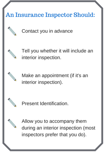 Insurance Inspector Should